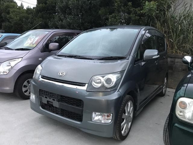 沖縄の中古車 ダイハツ ムーヴ 車両価格 39万円 リ済込 平成19年 7.4万km グレー