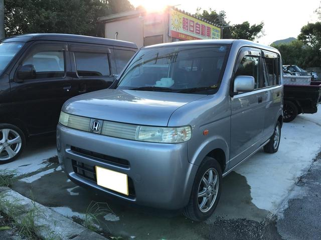 沖縄の中古車 ホンダ ザッツ 車両価格 19万円 リ済込 2007(平成19)年 13.5万km シルバー