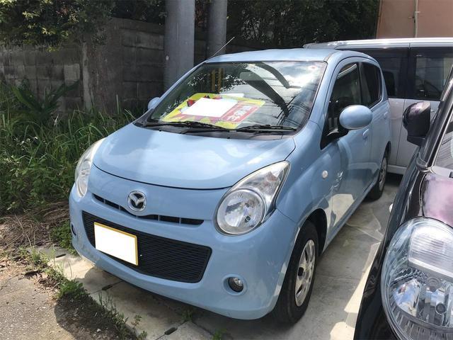 沖縄の中古車 マツダ キャロル 車両価格 32万円 リ済込 2009(平成21)年 4.6万km ブルー
