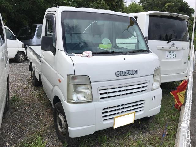 沖縄県の中古車ならキャリイトラック KCエアコン・パワステ 4WD 5速MT