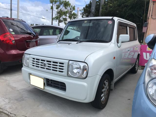 沖縄の中古車 スズキ アルトラパン 車両価格 21万円 リ済込 2008(平成20)年 9.2万km パールホワイト