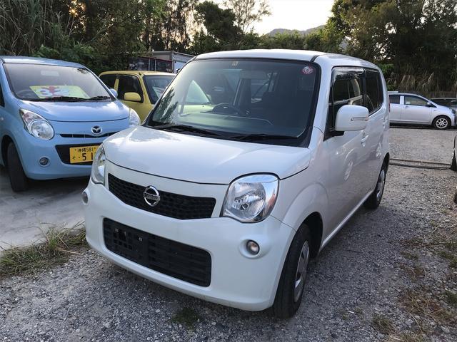 沖縄の中古車 日産 モコ 車両価格 35万円 リ済込 2011(平成23)年 10.0万km パールホワイト