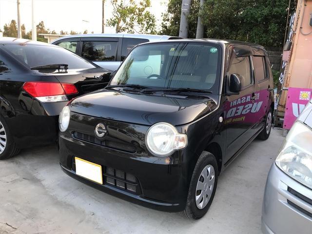 沖縄の中古車 ダイハツ ミラココア 車両価格 36万円 リ済込 2009(平成21)年 9.3万km ブラック