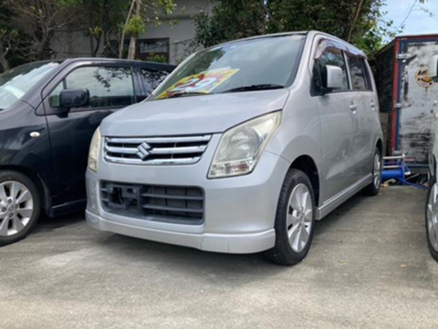沖縄の中古車 スズキ ワゴンR 車両価格 36万円 リ済込 2010(平成22)年 7.9万km シルバー