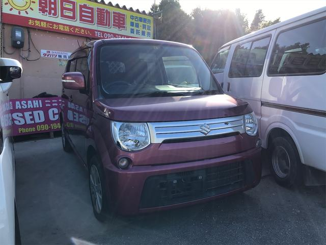 沖縄の中古車 スズキ MRワゴン 車両価格 41万円 リ済込 2013(平成25)年 8.2万km ピンク