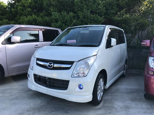 沖縄の中古車 マツダ AZワゴン 車両価格 35万円 リ済込 2010(平成22)年 7.4万km パールホワイト