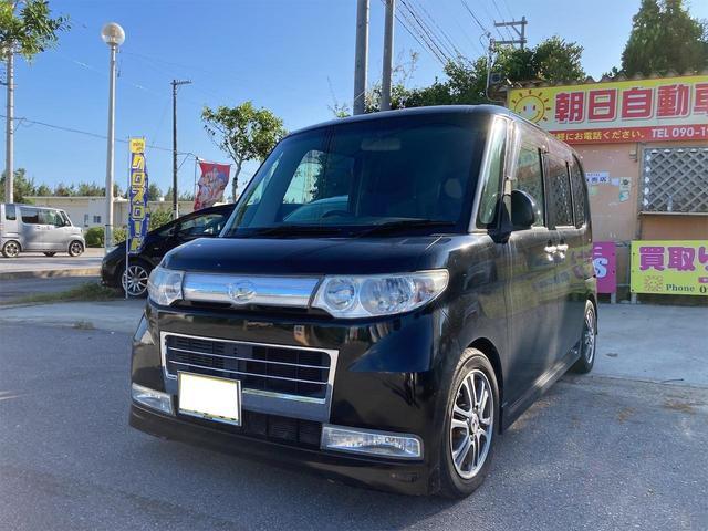 沖縄の中古車 ダイハツ タント 車両価格 29万円 リ済込 2010(平成22)年 10.9万km ブラック