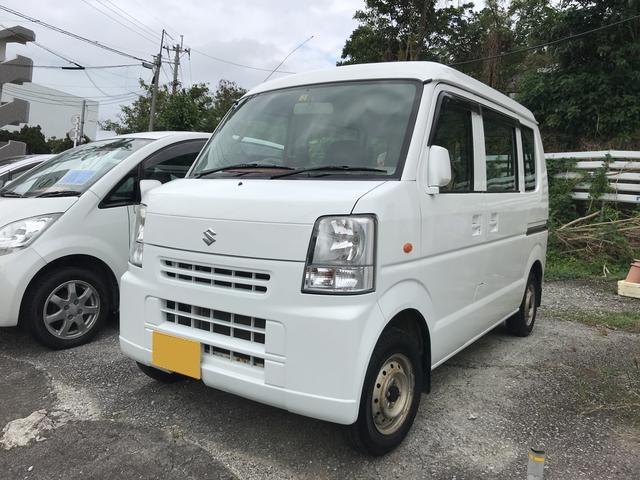 沖縄の中古車 スズキ エブリイ 車両価格 39万円 リ済込 平成22年 11.4万km ホワイト