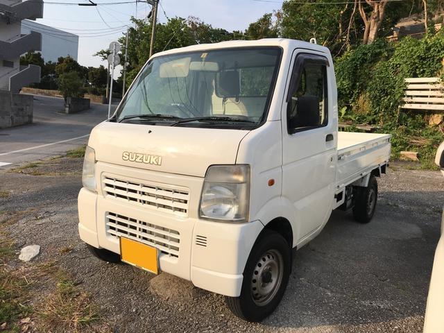 沖縄の中古車 スズキ キャリイトラック 車両価格 31万円 リ済込 平成18年 21.4万km ホワイト