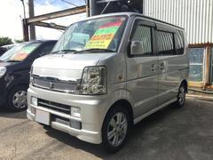 沖縄の中古車 スズキ エブリイワゴン 車両価格 51万円 リ済込 平成20年 8.9万K シルバー