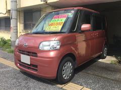 沖縄の中古車 ダイハツ タント 車両価格 40万円 リ済込 平成20年 6.6万K ピンク