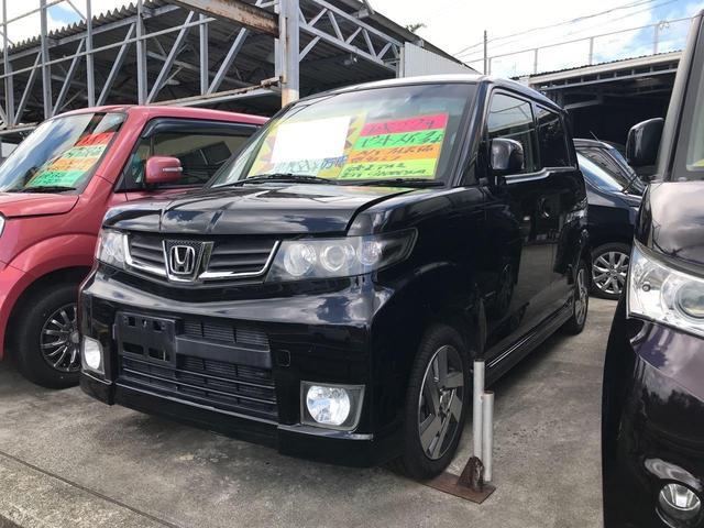 沖縄の中古車 ホンダ ゼストスパーク 車両価格 40万円 リ済込 2010(平成22)年 9.0万km ブラック