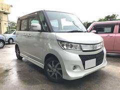 沖縄の中古車 スズキ パレットSW 車両価格 56万円 リ済込 平成21年 4.2万K パールホワイト