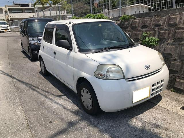 沖縄県の中古車ならエッセ Dセレクション CD サイドバイザー