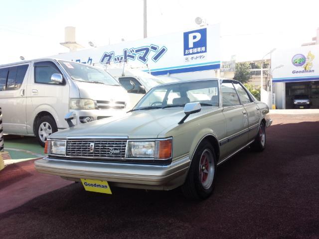 沖縄の中古車 トヨタ マークII 車両価格 89万円 リ未 1982(昭和57)年 走不明 ゴールド