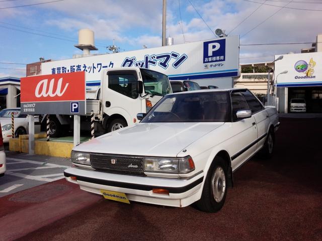 沖縄の中古車 トヨタ チェイサー 車両価格 69万円 リ済別 1987(昭和62)年 6.2万km ホワイト