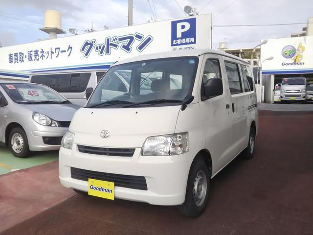 沖縄の中古車 トヨタ タウンエースバン 車両価格 79万円 リ済別 2014(平成26)年 9.8万km ホワイト