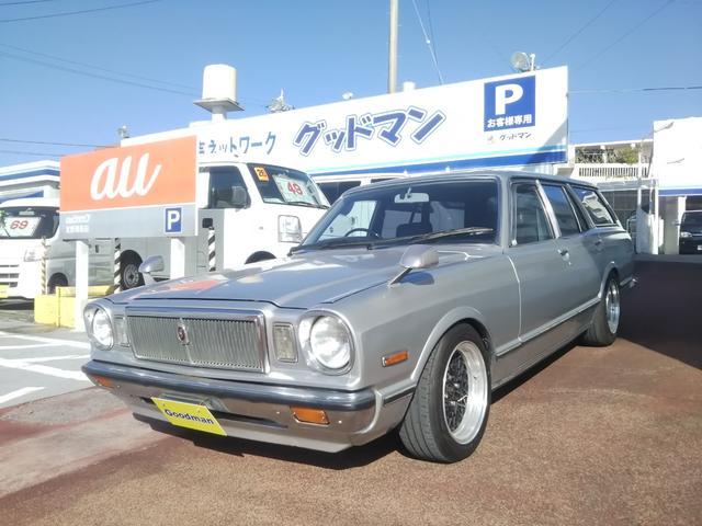 沖縄の中古車 トヨタ マークII 車両価格 179万円 リ済別 1979(昭和54)年 13.9万km シルバー
