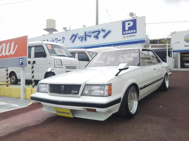 沖縄の中古車 トヨタ マークII 車両価格 169万円 リ済別 1984(昭和59)年 16.1万km ホワイト