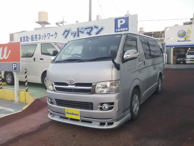 沖縄の中古車 トヨタ レジアスエースバン 車両価格 139万円 リ済別 2007(平成19)年 15.6万km シルバー