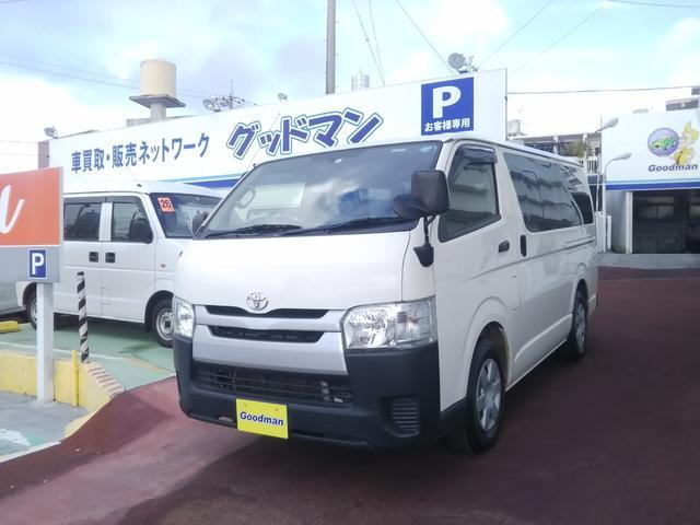 沖縄県の中古車ならハイエースバン 5ドアディーゼルDX