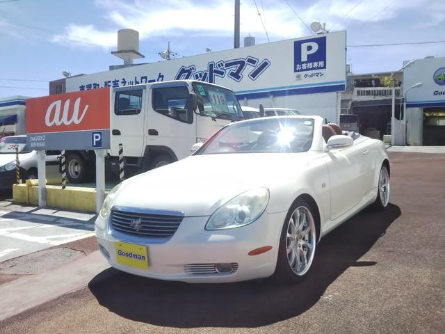 沖縄の中古車 トヨタ ソアラ 車両価格 139万円 リ済別 2004(平成16)年 7.4万km パール