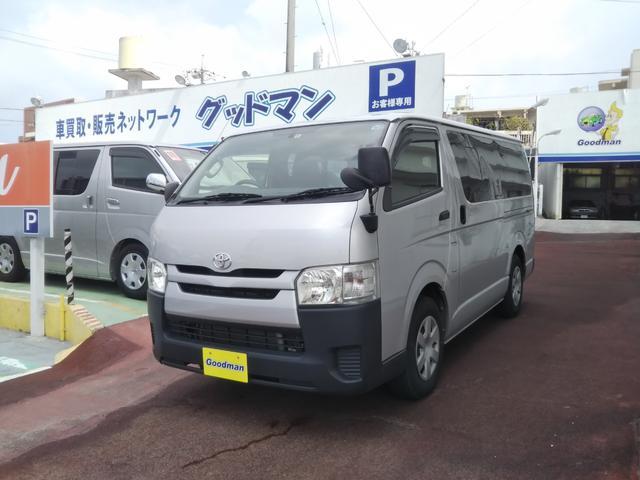 沖縄の中古車 トヨタ ハイエースバン 車両価格 169万円 リ済別 2014(平成26)年 6.3万km シルバー