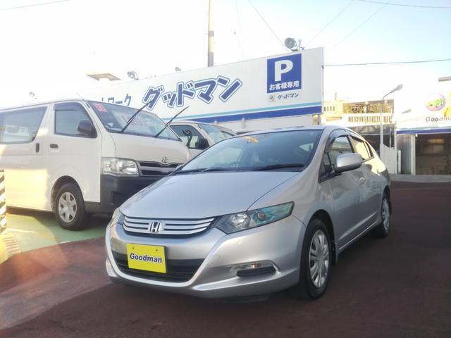 沖縄の中古車 ホンダ インサイト 車両価格 42万円 リ済別 2009(平成21)年 4.4万km シルバー