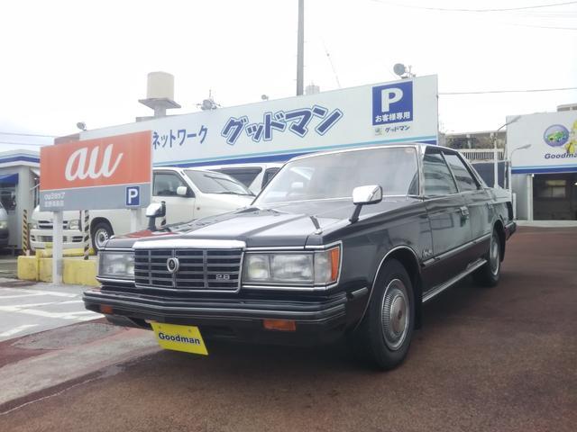沖縄の中古車 トヨタ クラウン 車両価格 199万円 リ済別 1983(昭和58)年 4.4万km ブラック