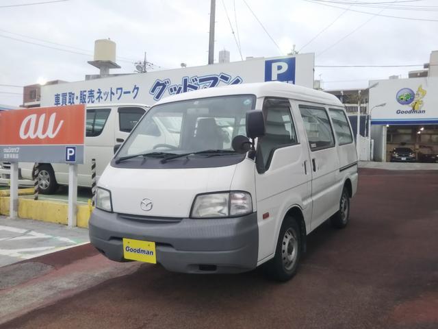 沖縄の中古車 マツダ ボンゴバン 車両価格 49万円 リ済別 2011(平成23)年 6.3万km ホワイト