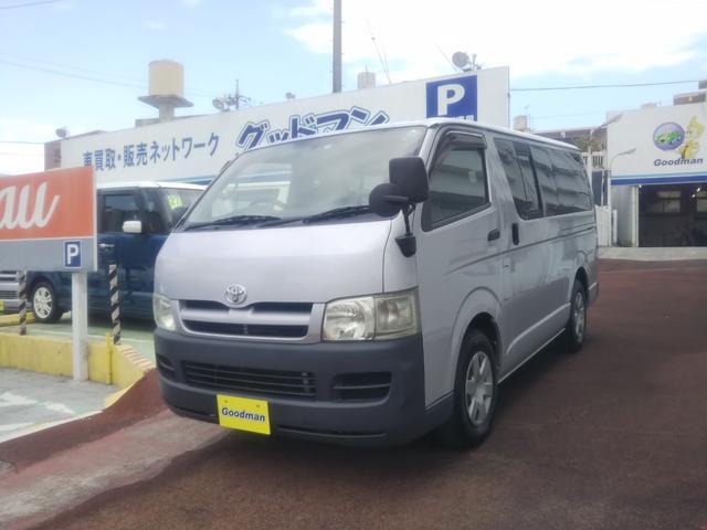 沖縄の中古車 トヨタ ハイエースバン 車両価格 109万円 リ済別 2007(平成19)年 14.4万km シルバー