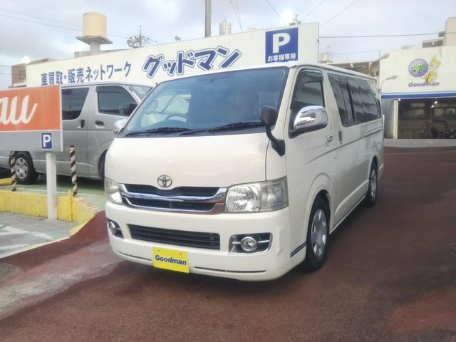沖縄の中古車 トヨタ ハイエースバン 車両価格 119万円 リ済別 2010(平成22)年 15.9万km ホワイト