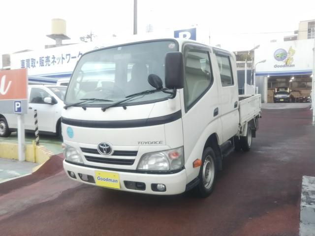 沖縄県宜野湾市の中古車ならトヨエース 6人乗りWキャブ