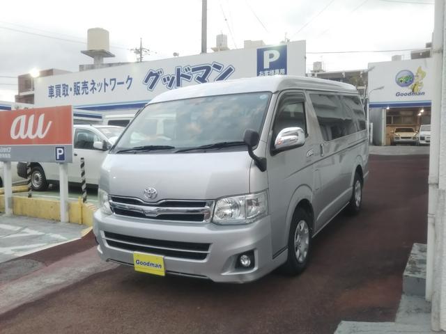 沖縄の中古車 トヨタ ハイエースワゴン 車両価格 169万円 リ済別 2013(平成25)年 13.4万km シルバー