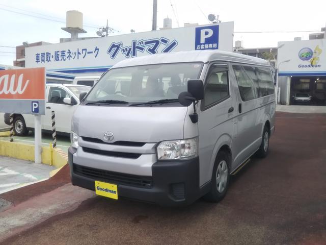 沖縄県宜野湾市の中古車ならハイエースワゴン DX10人乗