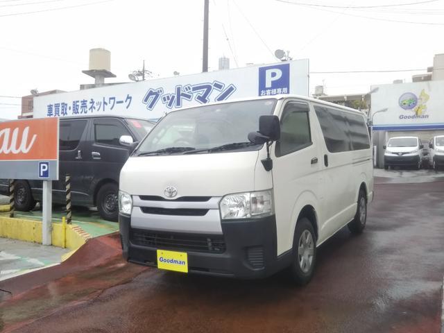 沖縄の中古車 トヨタ ハイエースバン 車両価格 129万円 リ済別 2015(平成27)年 15.5万km ホワイト