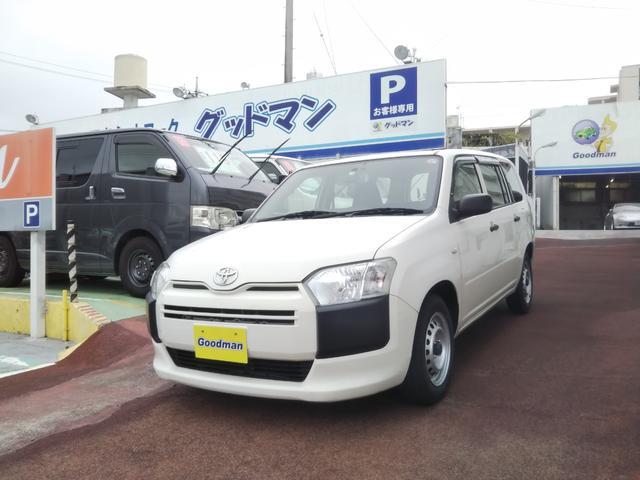 沖縄の中古車 トヨタ プロボックス 車両価格 59万円 リ済別 2015(平成27)年 7.3万km ホワイト