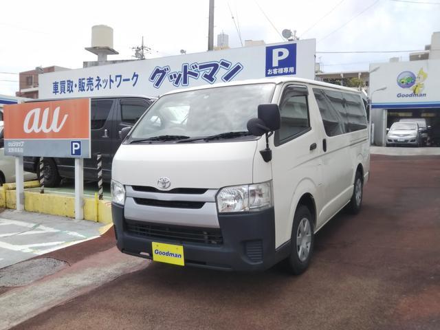 沖縄の中古車 トヨタ ハイエースバン 車両価格 129万円 リ済別 2015(平成27)年 19.9万km ホワイト