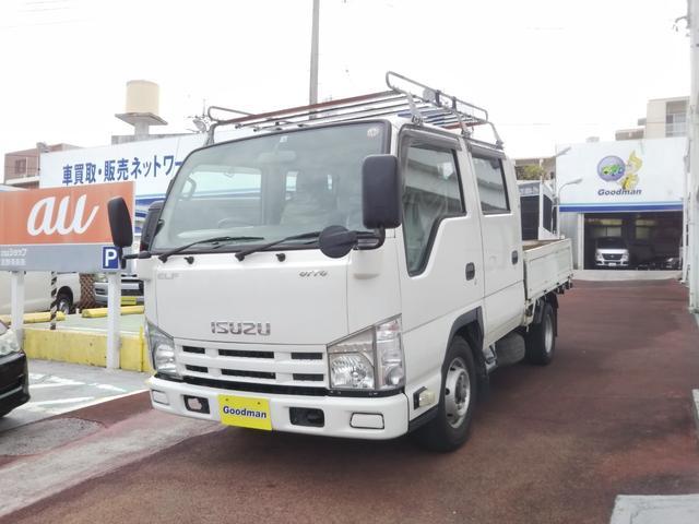 沖縄県宜野湾市の中古車ならエルフトラック Wキャブディーゼル