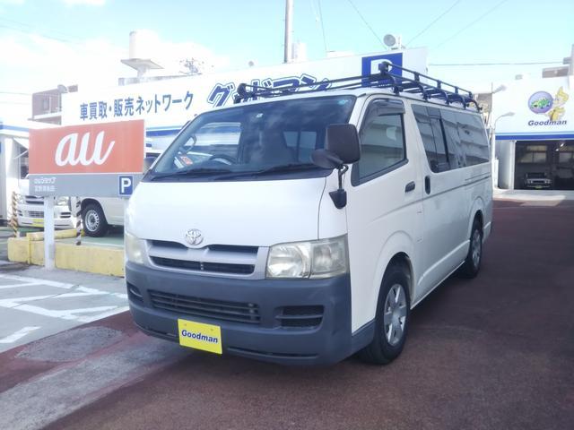 沖縄県宜野湾市の中古車ならハイエースバン ロングDX