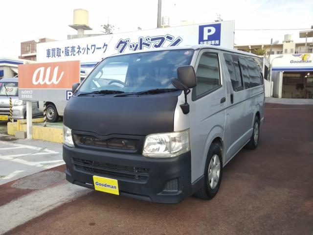 沖縄の中古車 トヨタ レジアスエースバン 車両価格 99万円 リ済別 2012(平成24)年 16.8万km シルバー