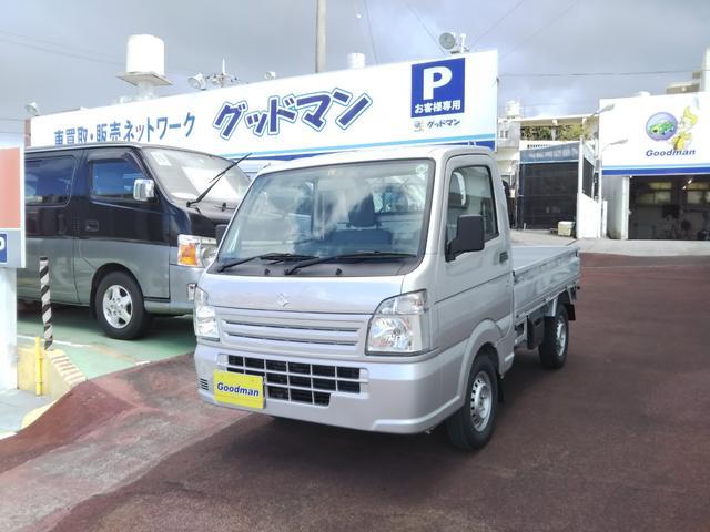 沖縄の中古車 スズキ キャリイトラック 車両価格 99万円 リ済別 2020(令和2)年 30km シルバー