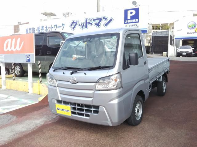 沖縄の中古車 ダイハツ ハイゼットトラック 車両価格 115万円 リ済別 2020(令和2)年 12km シルバー