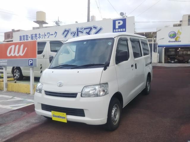 沖縄の中古車 トヨタ タウンエースバン 車両価格 69万円 リ済別 2014(平成26)年 9.9万km ホワイト