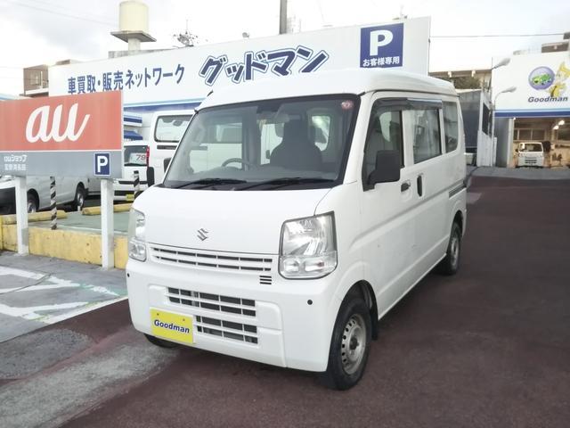 沖縄県宜野湾市の中古車ならエブリイ PA PAレーダーブレーキサポート装着車ハイルーフ