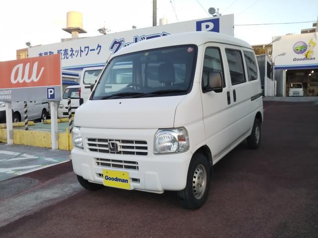 沖縄の中古車 ホンダ アクティバン 車両価格 43万円 リ済別 2014(平成26)年 7.2万km ホワイト