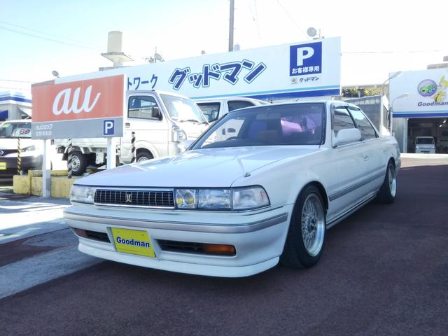沖縄の中古車 トヨタ クレスタ 車両価格 139万円 リ済別 1992(平成4)年 1.6万km ホワイト