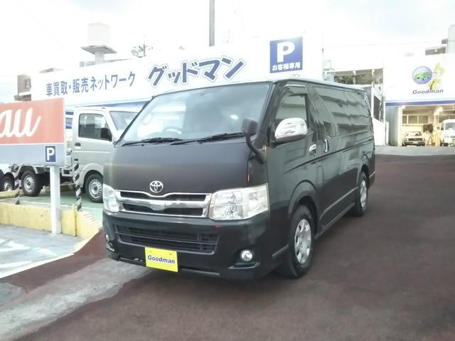 沖縄の中古車 トヨタ ハイエースバン 車両価格 159万円 リ済別 2012(平成24)年 20.4万km ブラック