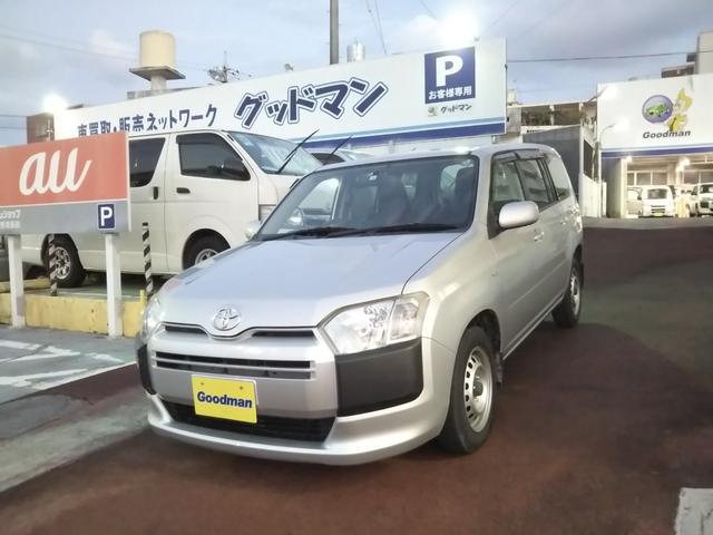 沖縄の中古車 トヨタ サクシード 車両価格 89万円 リ済別 2016(平成28)年 3.3万km シルバー