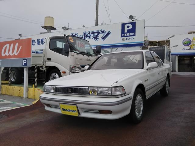 沖縄の中古車 トヨタ クレスタ 車両価格 139万円 リ済別 1992(平成4)年 4.8万km ホワイト